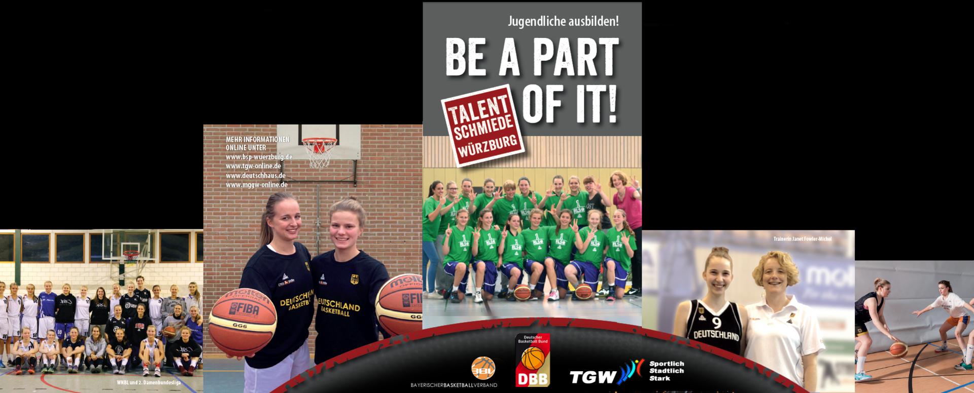 Basketballstützpunkt Würzburg weiblicher Bereich